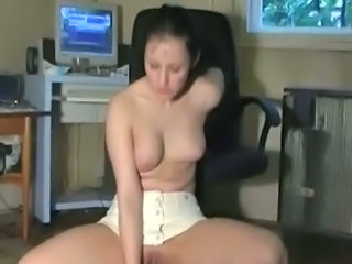 Amateur Brunette Maid Small Tits Teen