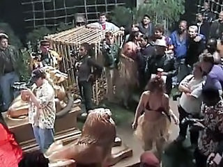 Amateur Orgy Outdoor Party