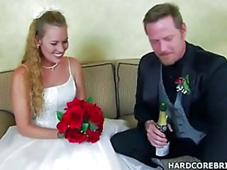 Amateur Blonde Bride Hardcore Teen