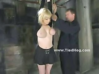 Big Tits Blonde Bondage Cute Teen
