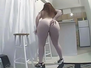 Amateur Chubby Kitchen Mature Redhead