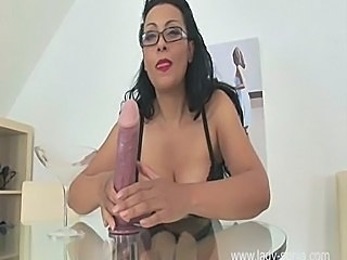 Big Tits MILF Jerk Off Instructions