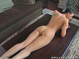 Husband provides a big cock for wife's birthday