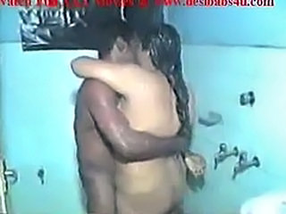 Indian Aunty Sex Bath And Fucking In The Bathroom