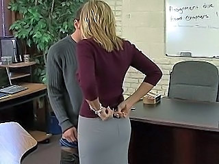 Blonde MILF Pornstar Teacher