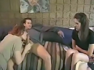 Blowjob Daughter Family Mom Threesome