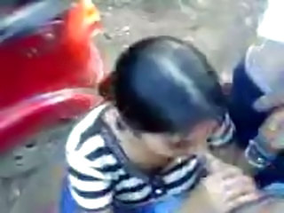 Amateur Blowjob Indian Outdoor Teen