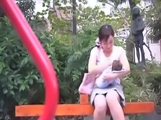 Amateur Japanese MILF Outdoor