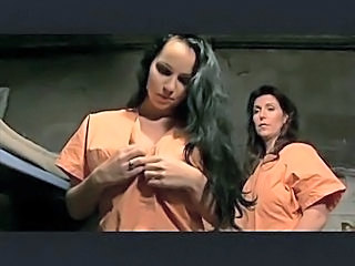 Bisexual Prison Strapon Threesome