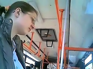 Bus Glasses Public Teen Voyeur
