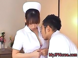 Ai Sayama Pretty Asian nurse shows off part6
