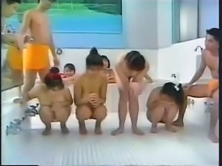 Japanese Pool Orgy Uncensored