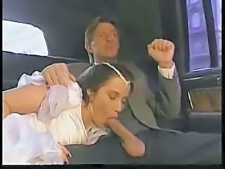 Bride Colette Choisez fucked at wedding day by his father