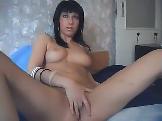 Amateur Brunette Cute Masturbating Small Tits