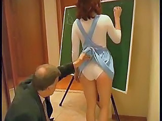 the old teacher wants his young student