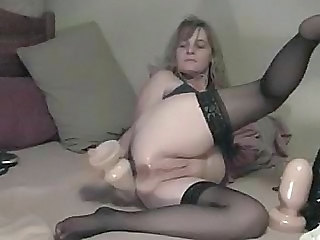 My Big Anal Toy - Amateur sex video -