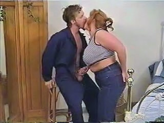 Chubby Jeans Kissing Mature
