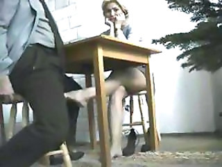 Blonde Cute Feet Student
