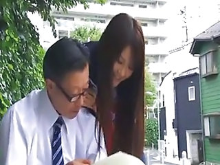 Amazing Japanese Old and Young Outdoor