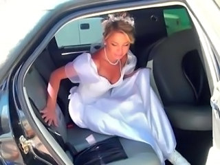 Amazing Blonde Bride Teen