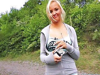 Blonde Cute Outdoor Teen