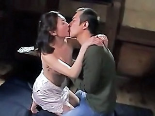 Kissing Korean MILF Pornstar