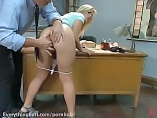Amazing Ass Blonde Masturbating Teen