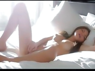 Babe Brunette Cute Erotic Masturbating Natural