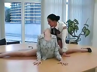 Flexible secretary tease