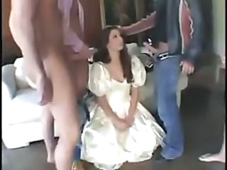 Blowjob Bride Brunette Handjob Teen Threesome