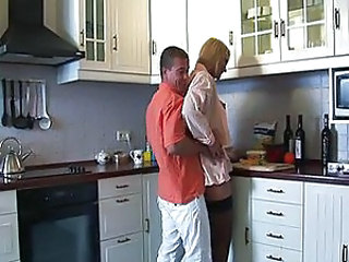Hardcore Kitchen Stockings Wife
