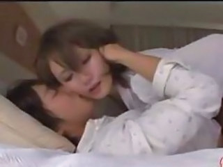 Sweet young Asian cutie face sits, gets licked and fucked hard