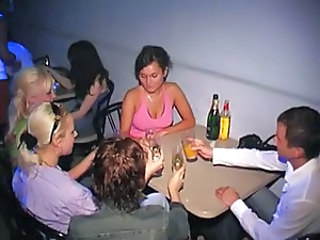 Amateur Cute Drunk Gloryhole Party