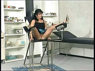Anal Brunette Doctor MILF Uniform
