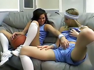 Sierra Sinn and lesbian friends do some nasty toying of her pussy