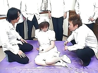 Asian Gangbang Nurse Uniform Young