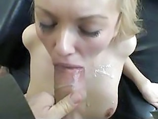Blonde Blowjob Pov Swallow