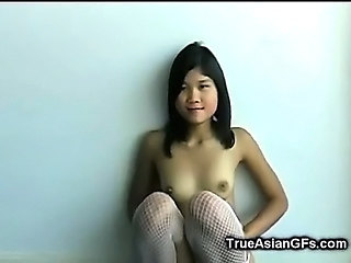 Amateur Asian Cute Small Tits Stockings Teen