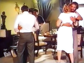 Hot Vintage Video Of Several Pretty Girls Getting  Some Nasty Sex
