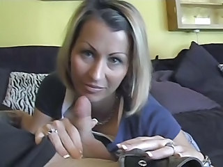 Amateur Blonde Fellation Handjob Point de Vue Epouse