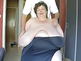 Fat Mature With Giant Tits To Show Off