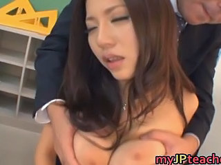 Asian Babe Big Tits Bus Pornstar Teacher