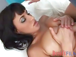 Dark Hair On A Hot Big Tit Chick