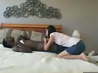 Amateur Blowjob Interracial Young