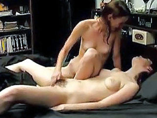 Young lesbians finger and eat pussy
