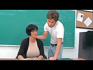 Big Tits Fantasy Glasses MILF School Teacher