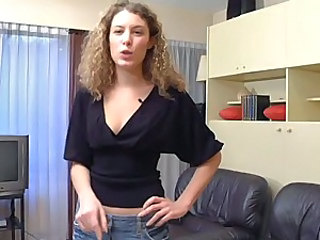 Amateur European French MILF Skinny