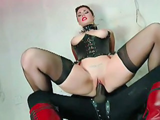 British Corset European Fetish Hardcore Interracial MILF Riding Stockings