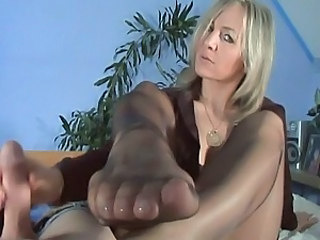 Slow Handjob & Footjob 2