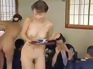 Asian Japanese Mature Nudist Public Skinny